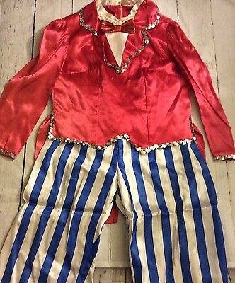 Vintage Circus, Ringmaster, Party, Clown Sequin Outfit Handmade!