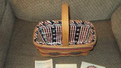 Longaberger 1994 All American Series Candle Basket