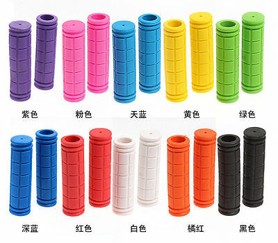 UK!  Soft BMX MTB Cycle Road Mountain Bicycle Scooter Bike Handle bar Grips w