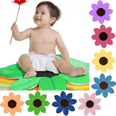 Creative Baby Infant Kids Toddler Flower Shape Bath Mat Anti Slip Safety Pad Tub
