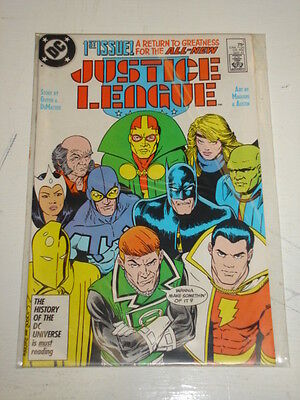 Justice League Of America #1 Vol 2 Jla Dc Comics Scarce May 1987