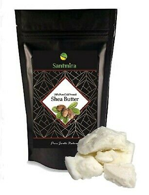 Raw African Shea Butter 100% Pure Unrefined Ghana Skin Body Face by SANTMIRA