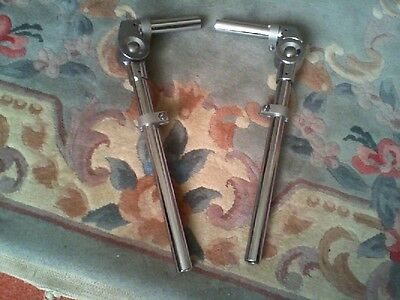 Pair  Chromed  Bass To Tom Joiners.22Mm