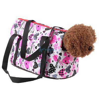 New Pet Dog Carrier Canvas Handbag Travel Carrying Bag for Dogs and Cats