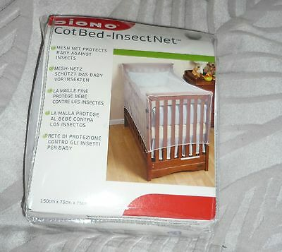 Diono Cot Bed Insect Net BNIB Size 150 cms x 75 x 75 cms