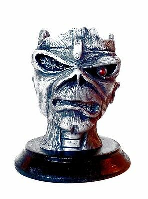 Iron Maiden Eddie - Hand Crafted Seventh Son Inspired Statuette