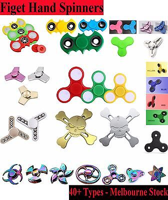 New Fidget Hand Finger Spinner EDC Focus Stress Reliever Toys For Kids Adults AU