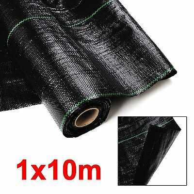 100GSM 1M Weed Control Weedmat LANDSCAPE FABRIC Mat Heavy Ground COVER
