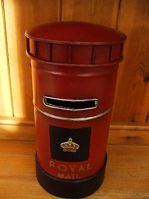 RED POST BOX MONEY BANK brand new