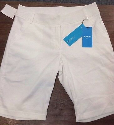 AUR Ladies Shorts Size 10 White