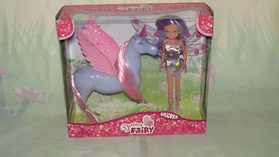 Simba Toys 105518894 My dream Fairy Unicorn mit Puppe  lila NEU