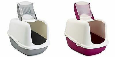Cat Jumbo Litter Box Tray Hooded Covered Toilet Big Large with Carbon Filter XXL