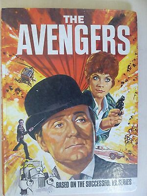 Vintage The Avengers 1969 Annual Very Good Condition Patrick McNee Linda Thorson