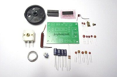 Simply Tunable FM Radio Receiver KIT DIY Electronic Education Homebrew Project