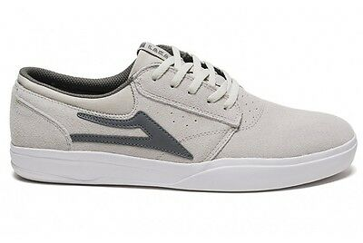Lakai Griffin XLK White Suede Men's Skateboard sneakers Trainers Factory Second