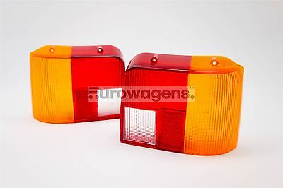 Peugeot 205 85-90 Rear Tail Light Lenses Set Pair Driver Passenger Near Off Side