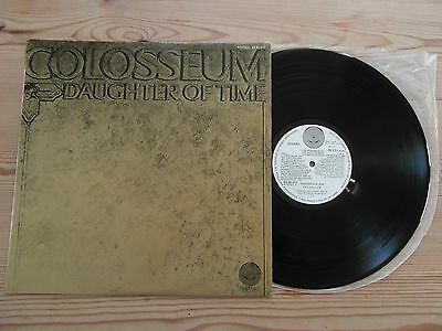 Colosseum - Daughter Of Time-Vertigo-Superb Audio-Ex Ex+ Vinyl Lp 1970