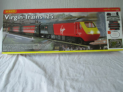 **empty Box** For Hornby R1023 'virgin Trains 125' Hst Set. Excellent