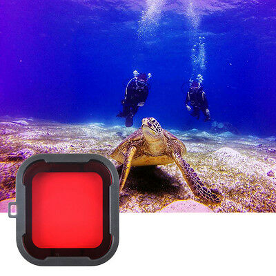 New Professional Diving Housing Red Filters for GoPro Hero 3+ Camera Scuba GK