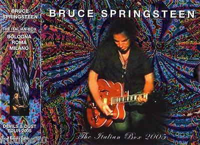 Bruce Springsteen - The Italian Devils And Dust Box 6Cd 2005 - Crystal Cat