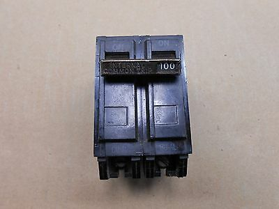 1 Old Style Ge Tqal-Ac Tqal21100 Circuit Breaker 100A 100 Amp 2P 240V 240 Volt