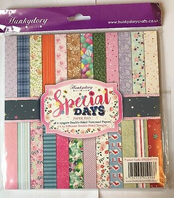 Hunkydory Crafts Special Days Paper Pad New/Sealed