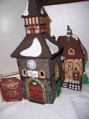 """Department 56 Dickens Village """"The Olde Camden Town Church """" #58346 MINT!!"""