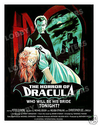 Horror Of Dracula Lobby Card Poster 1958 Os-B/fr Christopher Lee Peter Cushing