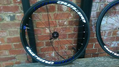 700c Disc Wheelset with Tyres - Airline Evo Disc