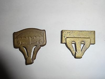 Two Civil War times suspender clips!!!