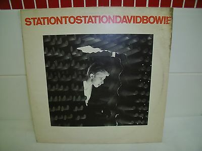 David Bowie ~ Station To Station ~ 1976 Original Vinyl Record Lp
