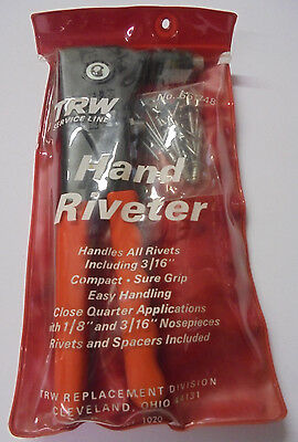 TRW Service Line All Purpose Riveter w/ Rivet Assortment - Made in USA