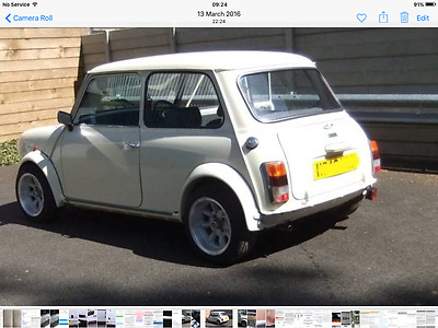 "MINI 1990 1000 1.0 standard body race rally project? 13"" Supalites V5 Quant BMC"