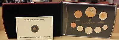 Canada 2009 Proof Set Royal Canadian Mint