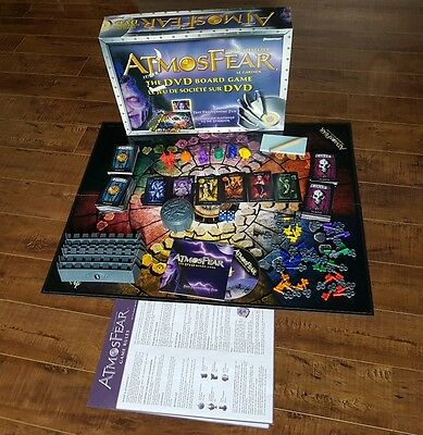 Atmosphere the Gatekeeper DVD 2004 Board Game 100% Complete by Pressman