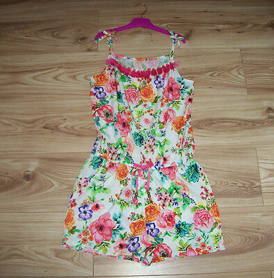 NEW GIRLS NEXT PLAYSUIT AGE 14, Stunning Floral jumpsuit Summer All in one