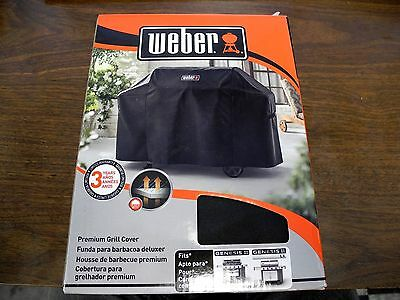 "Weber-Stephen 7132 Genesis II Black Grill Cover 44.5"" x 73""x 25"" NEW"
