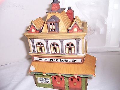 """Department 56 Dickens Village """"Theatre Royal"""" #55840 MINT! RETIRED!!!"""