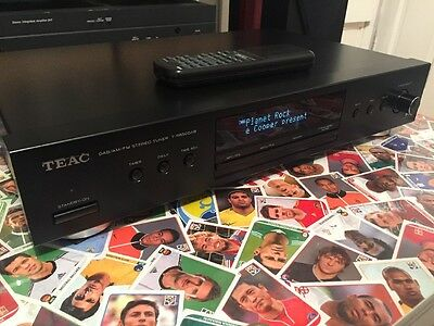 Teac T-R650dab DAB FM AM Stereo Radio Tuner With Remote Hifi Separate