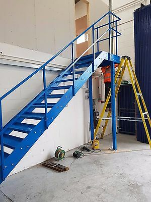 Steel staircase , metal staircase , metal fire escape all sizes available