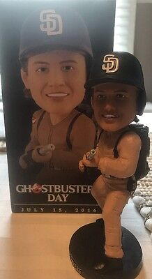 Rare 2016 San Diego Padres Wil Myers Ghostbusters SGA Bobblehead Doll Figure