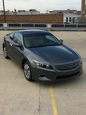 2012 Honda Accord EX-L Coupe 2-Door 2011 2012 HONDA ACCORD EX-L COUPE LEATHER SUNROOF HEATED SEATS