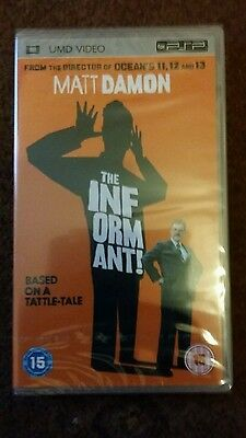 Sony PSP DVD / Movie / Film - The Informant * New and Sealed*