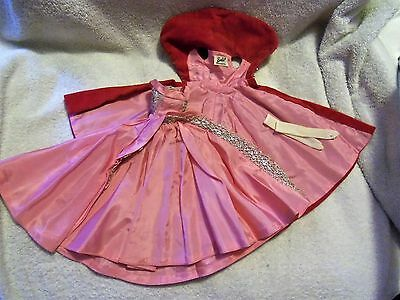 Vintage BARBIE ~ TAGGED SOPHISTICATED LADY GOWN ~ CAPE & LONG WHITE GLOVES ~