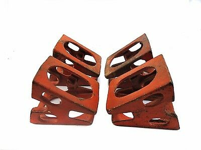 Sawhorse Cast Ion Brackets compact for tool box carry