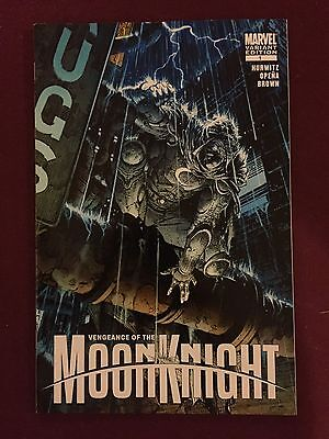 Marvel Comics Vengeance of Moon Knight 1 David Finch Variant Cover Jerome Opena