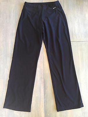 Nike Women's Fit Dri Black Athletic Workout Pants Size Small Running Yoga