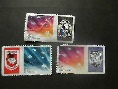 -1-  2006 Special    Issue  With  Tab - Great  3   Stamps   Issue-Used--Rare ///