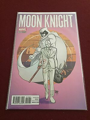 2017 Marvel Moon Knight 14 Variant Cover 1:25 Ratio Variant Pasqual Ferry