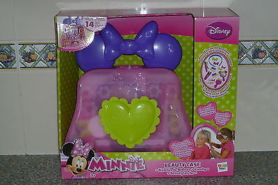 Brand New Minnie Mouse Beauty Case For Age 3+